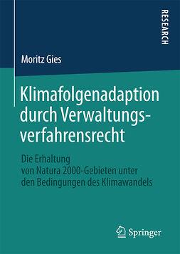 Gies, Moritz - Klimafolgenadaption durch Verwaltungsverfahrensrecht, ebook
