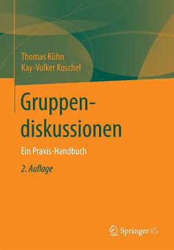 Koschel, Kay-Volker - Gruppendiskussionen, ebook