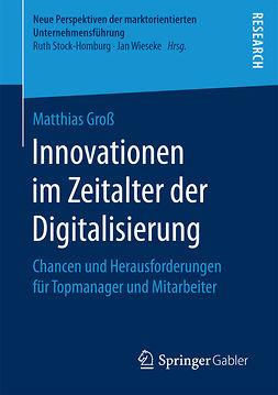 Groß, Matthias - Innovationen im Zeitalter der Digitalisierung, ebook