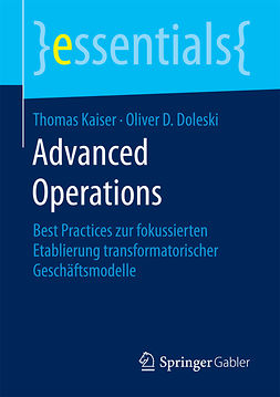 Doleski, Oliver D. - Advanced Operations, e-bok