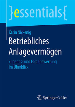 Nickenig, Karin - Betriebliches Anlagevermögen, ebook