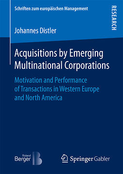 Distler, Johannes - Acquisitions by Emerging Multinational Corporations, ebook