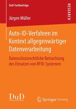Müller, Jürgen - Auto-ID-Verfahren im Kontext allgegenwärtiger Datenverarbeitung, ebook