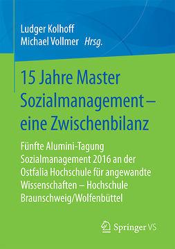 Kolhoff, Ludger - 15 Jahre Master Sozialmanagement – eine Zwischenbilanz, ebook