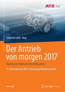 Liebl, Johannes - Der Antrieb von morgen 2017, ebook