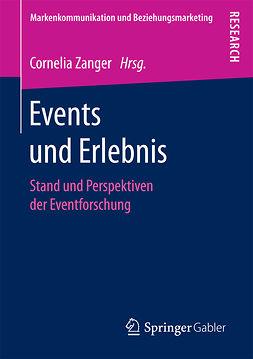 Zanger, Cornelia - Events und Erlebnis, e-kirja