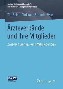 Spier, Tim - Ärzteverbände und ihre Mitglieder, ebook