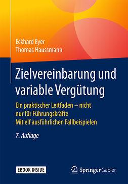 Eyer, Eckhard - Zielvereinbarung und variable Vergütung, e-bok