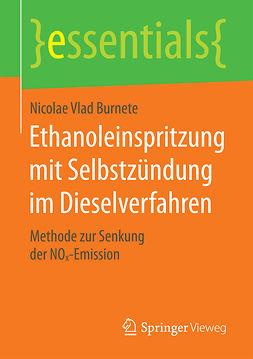 Burnete, Nicolae Vlad - Ethanoleinspritzung mit Selbstzündung im Dieselverfahren, ebook