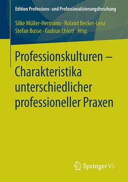 Becker-Lenz, Roland - Professionskulturen – Charakteristika unterschiedlicher professioneller Praxen, ebook