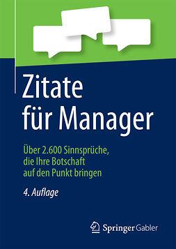 - Zitate für Manager, ebook