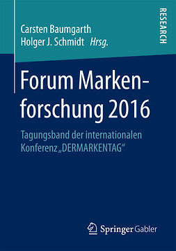 Baumgarth, Carsten - Forum Markenforschung 2016, ebook