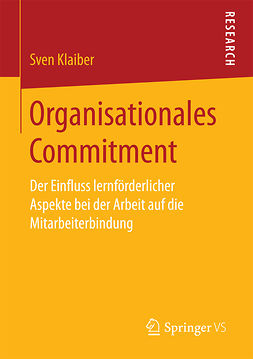 Klaiber, Sven - Organisationales Commitment, ebook