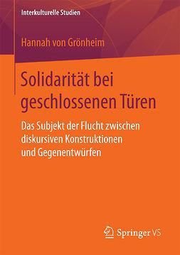 Grönheim, Hannah von - Solidarität bei geschlossenen Türen, ebook