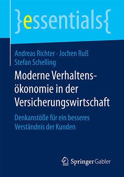 Richter, Andreas - Moderne Verhaltensökonomie in der Versicherungswirtschaft, ebook