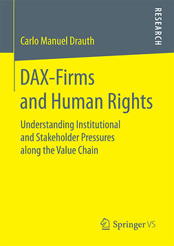Drauth, Carlo Manuel - DAX-Firms and Human Rights, ebook