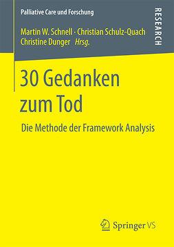 Dunger, Christine - 30 Gedanken zum Tod, e-bok