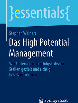 Weinert, Stephan - Das High Potential Management, ebook