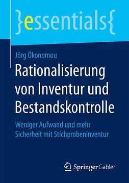 Ökonomou, Jörg - Rationalisierung von Inventur und Bestandskontrolle, ebook