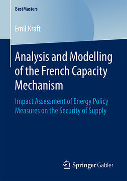Kraft, Emil - Analysis and Modelling of the French Capacity Mechanism, ebook