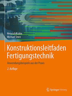 Krahn, Heinrich - Konstruktionsleitfaden Fertigungstechnik, ebook