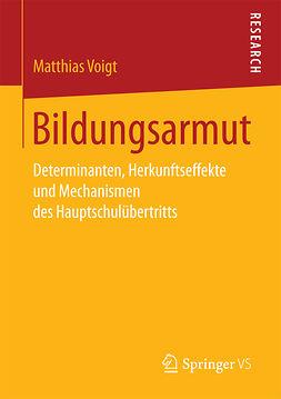 Voigt, Matthias - Bildungsarmut, ebook
