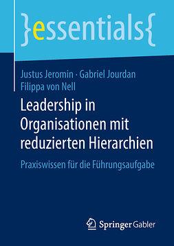 Jeromin, Justus - Leadership in Organisationen mit reduzierten Hierarchien, e-bok