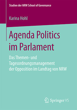 Hohl, Karina - Agenda Politics im Parlament, ebook