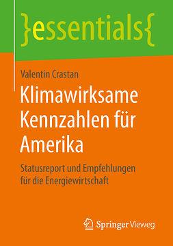 Crastan, Valentin - Klimawirksame Kennzahlen für Amerika, e-kirja