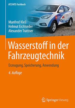 Eichlseder, Helmut - Wasserstoff in der Fahrzeugtechnik, ebook