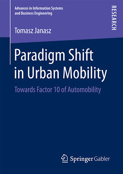 Janasz, Tomasz - Paradigm Shift in Urban Mobility, ebook