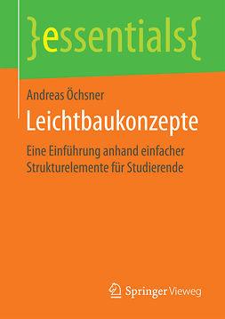 Öchsner, Andreas - Leichtbaukonzepte, ebook
