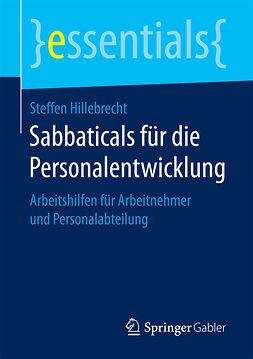 Hillebrecht, Steffen - Sabbaticals für die Personalentwicklung, ebook