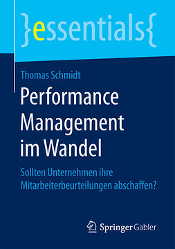Schmidt, Thomas - Performance Management im Wandel, ebook