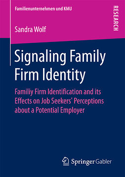 Wolf, Sandra - Signaling Family Firm Identity, ebook