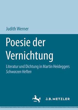 Werner, Judith - Poesie der Vernichtung, ebook