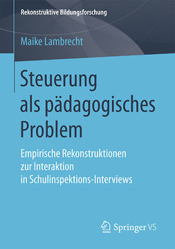 Lambrecht, Maike - Steuerung als pädagogisches Problem, ebook