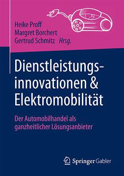 Borchert, Margret - Dienstleistungsinnovationen und Elektromobilität, e-bok
