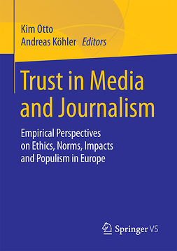 Köhler, Andreas - Trust in Media and Journalism, e-bok