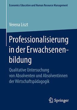 Liszt, Verena - Professionalisierung in der Erwachsenenbildung, e-bok