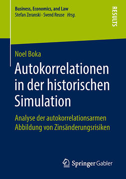 Boka, Noel - Autokorrelationen in der historischen Simulation, ebook