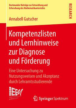 Gutscher, Annabell - Kompetenzlisten und Lernhinweise zur Diagnose und Förderung, ebook