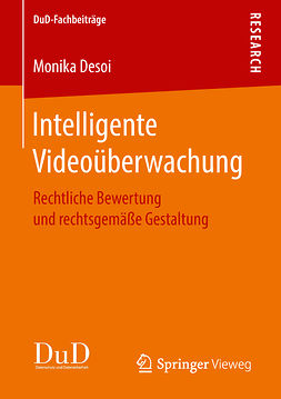 Desoi, Monika - Intelligente Videoüberwachung, ebook