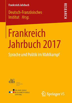 Institut, Deutsch-Französisches - Frankreich Jahrbuch 2017, ebook