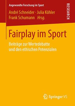 Köhler, Julia - Fairplay im Sport, ebook