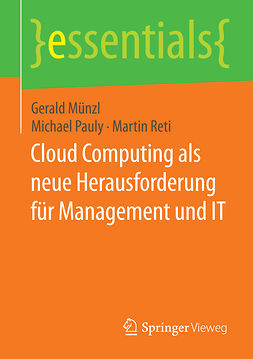 Münzl, Gerald - Cloud Computing als neue Herausforderung für Management und IT, e-kirja