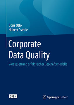 Otto, Boris - Corporate Data Quality, e-kirja