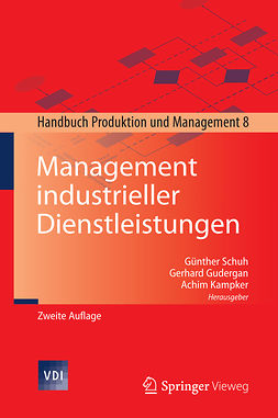 Gudergan, Gerhard - Management industrieller Dienstleistungen, ebook