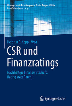 Kopp, Heidrun E. - CSR und Finanzratings, ebook