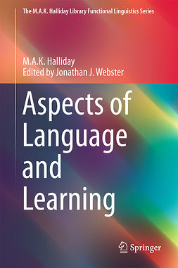 Halliday, M.A.K. - Aspects of Language and Learning, ebook
